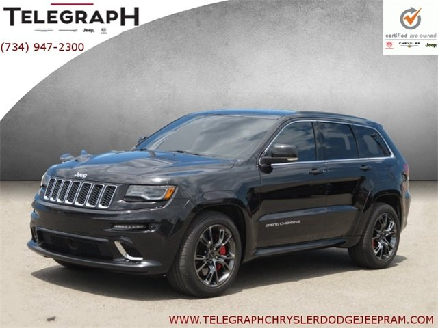 Certified Pre-Owned 2014 Jeep Grand Cherokee SRT8