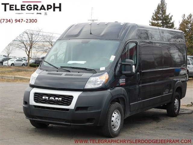 Dodge Ram Promaster >> New 2019 Ram Promaster High Roof Cargo Van In Taylor 9j003