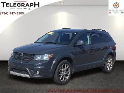 Certified Pre-Owned 2017 Dodge Journey GT